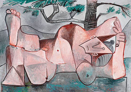 Picasso's Nude Under a Pine Tree, 1959